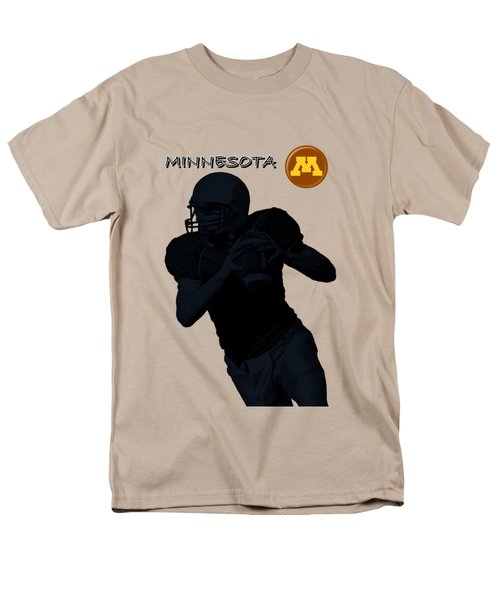 Minnesota Football Men's T-Shirt  (Regular Fit) by David Dehner