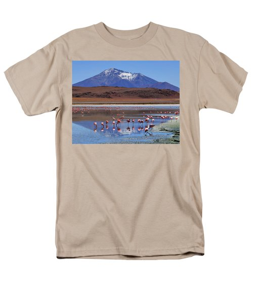 Men's T-Shirt  (Regular Fit) featuring the photograph Mirage by Skip Hunt