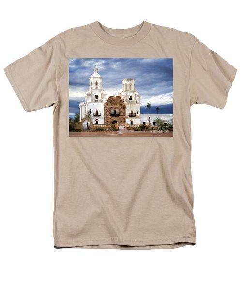 Mission San Xavier Del Bac Men's T-Shirt  (Regular Fit) by Donna Greene