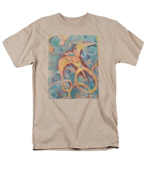 Mistral's Messenger Men's T-Shirt  (Regular Fit) by Cynthia Lagoudakis