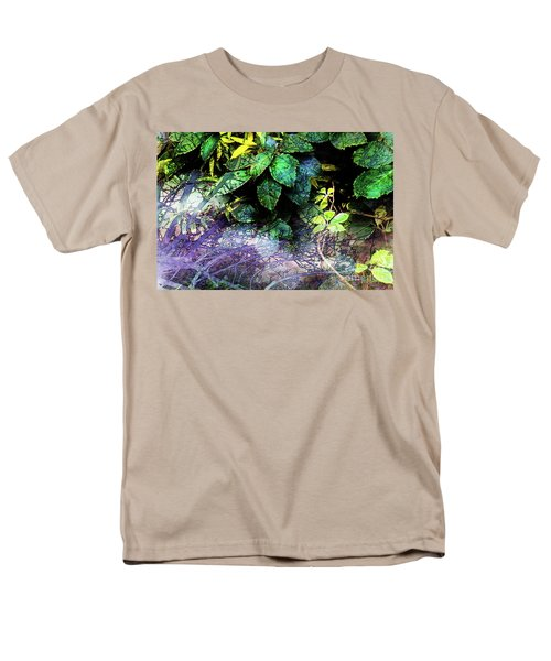 Misty Branches Men's T-Shirt  (Regular Fit) by Deborah Nakano