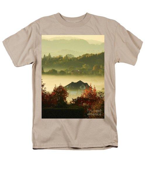 Misty Morning Men's T-Shirt  (Regular Fit) by Mariola Bitner