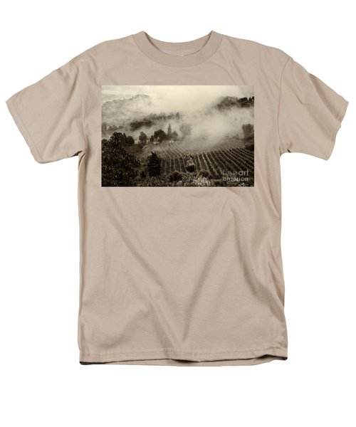 Misty Morning Men's T-Shirt  (Regular Fit) by Silvia Ganora