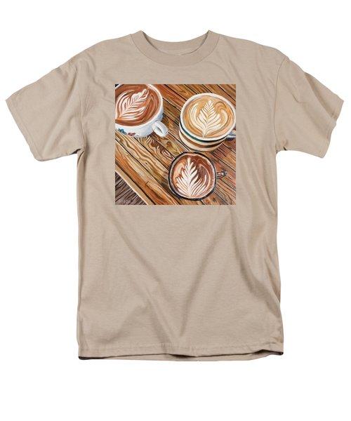 Mocha Trinity Men's T-Shirt  (Regular Fit) by Nathan Rhoads