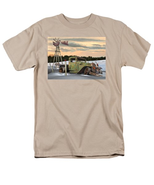 Model A Flatbed Men's T-Shirt  (Regular Fit) by Stuart Swartz
