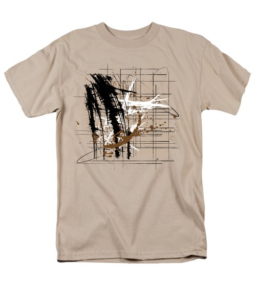Modern Brown 2 Men's T-Shirt  (Regular Fit) by Melissa Smith