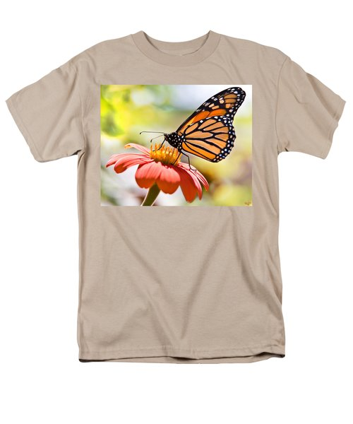 Monarch Butterfly Men's T-Shirt  (Regular Fit) by Chris Lord