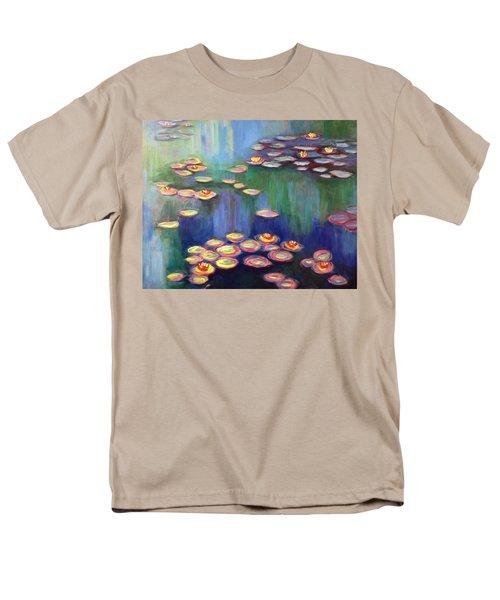 Monet's Lily Pads Men's T-Shirt  (Regular Fit)