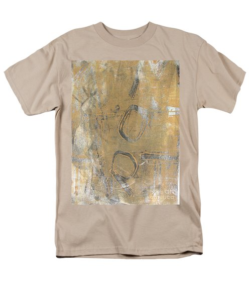 Men's T-Shirt  (Regular Fit) featuring the drawing Mono Print 003 - I Am Not Art by Mudiama Kammoh