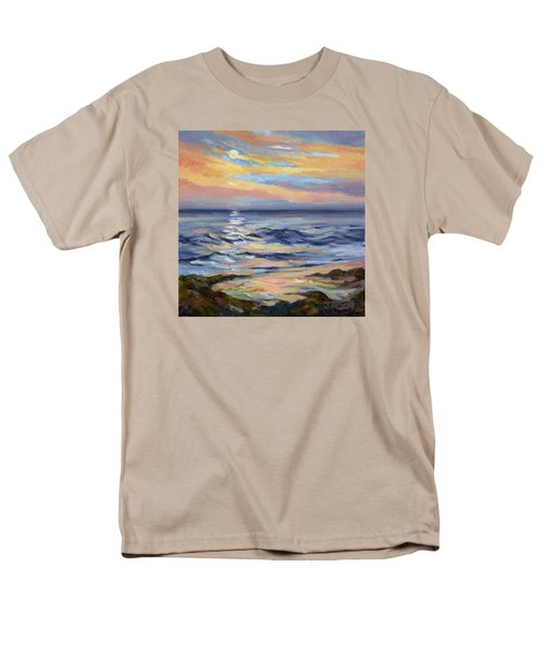 Moonrise At Cabrillo Beach Men's T-Shirt  (Regular Fit) by Jane Thorpe