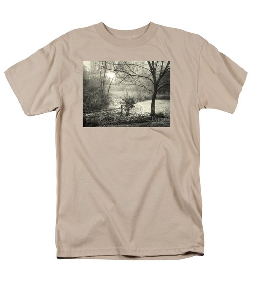 Men's T-Shirt  (Regular Fit) featuring the photograph Morning Breaking by Betsy Zimmerli