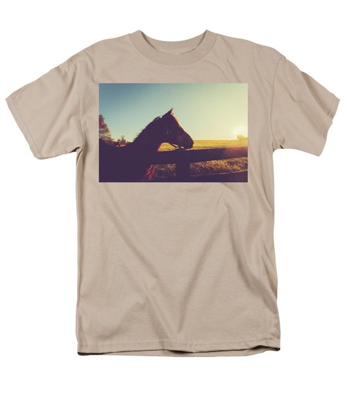 Men's T-Shirt  (Regular Fit) featuring the photograph Morning  by Shane Holsclaw