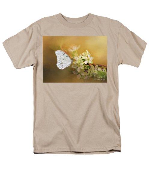 Morpho Luna  Men's T-Shirt  (Regular Fit) by Eva Lechner