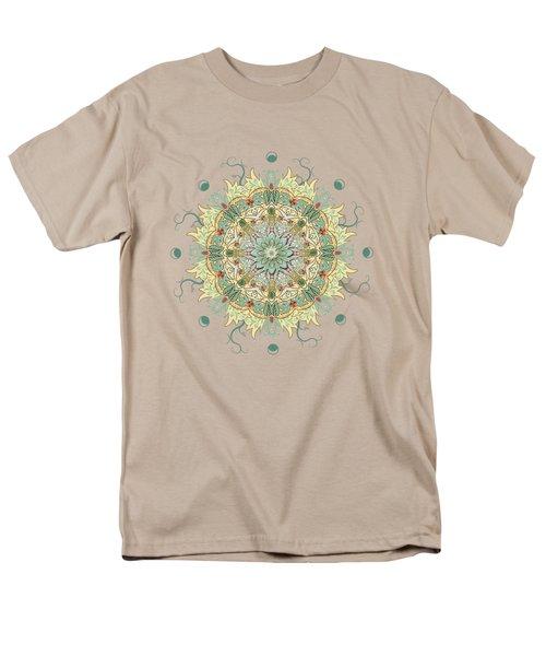 Morris Artful Garden Mandala Men's T-Shirt  (Regular Fit) by Deborah Smith