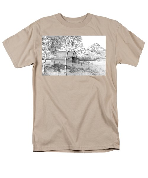 Mountain Pastoral Men's T-Shirt  (Regular Fit) by Lawrence Tripoli