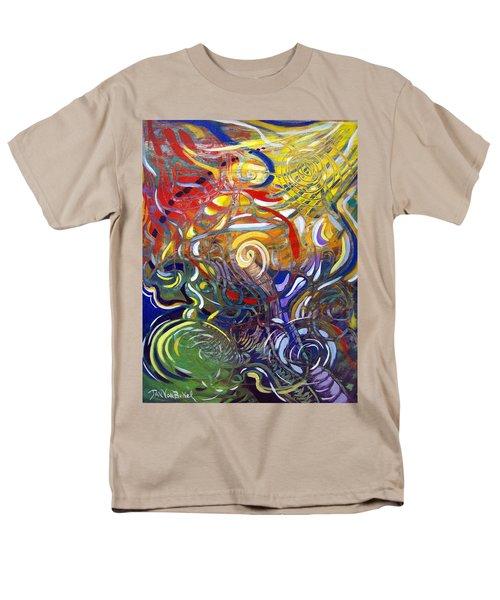 Moving Color Men's T-Shirt  (Regular Fit)
