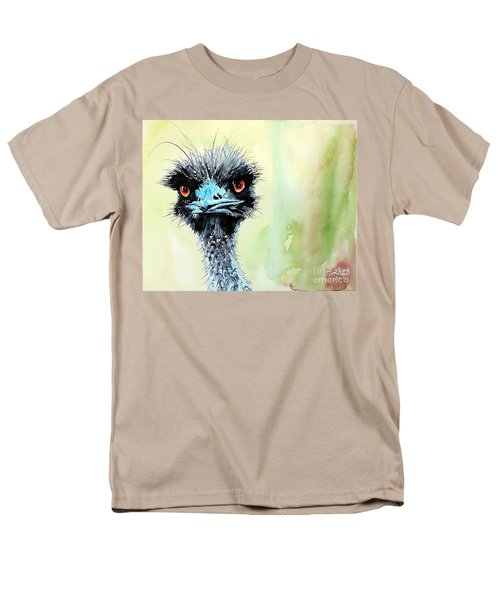 Men's T-Shirt  (Regular Fit) featuring the painting Mr. Grumpy by Tom Riggs
