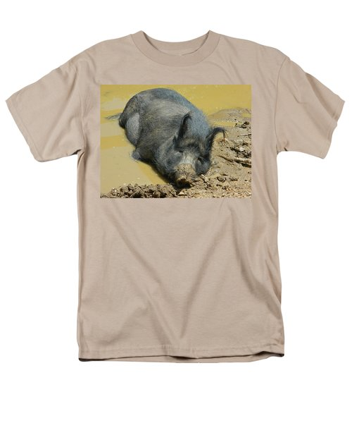 Mud Spa Men's T-Shirt  (Regular Fit) by Emmy Marie Vickers