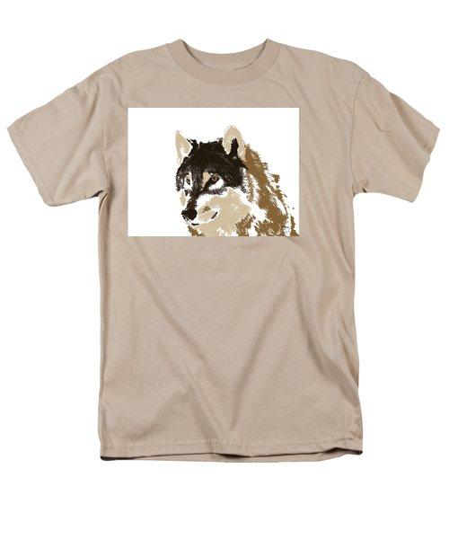 Men's T-Shirt  (Regular Fit) featuring the digital art Music Notes 21 by David Bridburg