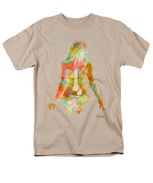 Music Was My First Love Men's T-Shirt  (Regular Fit)