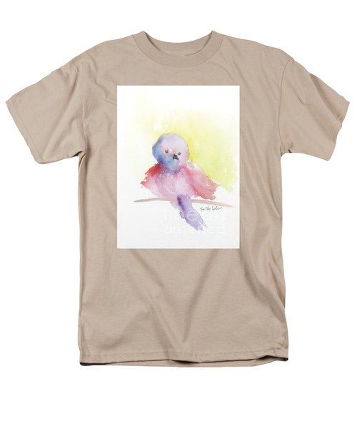 Men's T-Shirt  (Regular Fit) featuring the painting My Little One by Trilby Cole