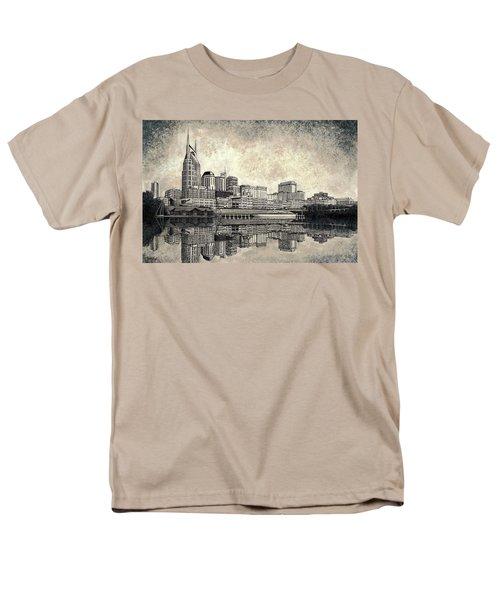 Nashville Skyline II Men's T-Shirt  (Regular Fit)