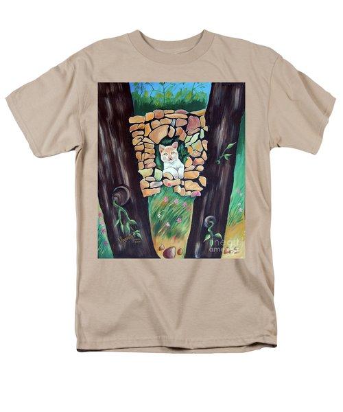 Natural Home Men's T-Shirt  (Regular Fit) by Ragunath Venkatraman