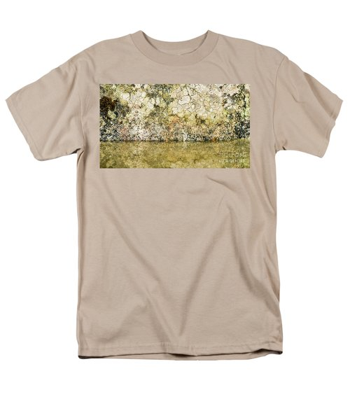 Men's T-Shirt  (Regular Fit) featuring the photograph Natural Stone Background by Torbjorn Swenelius