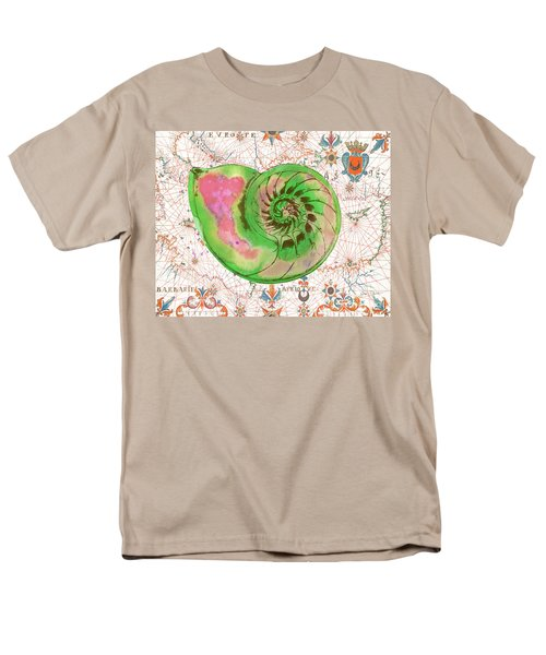 Men's T-Shirt  (Regular Fit) featuring the painting Nautical Treasures-o by Jean Plout