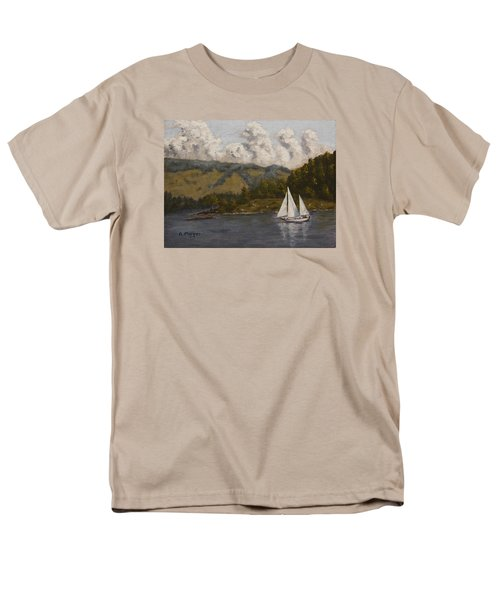 Nearing The Point Men's T-Shirt  (Regular Fit) by Alan Mager