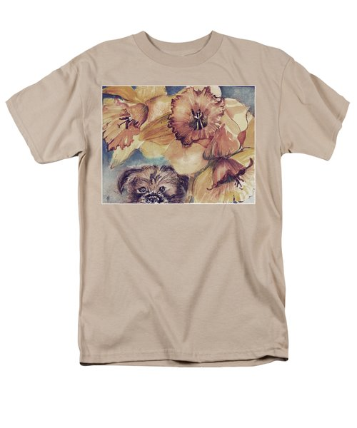 Men's T-Shirt  (Regular Fit) featuring the painting Nellie Mae by Mindy Newman