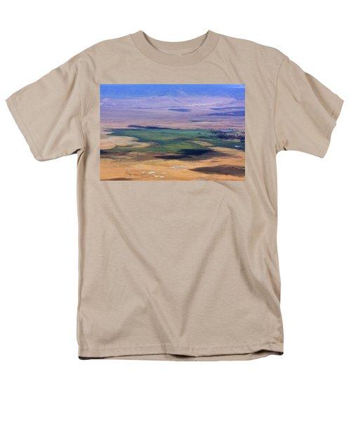 Ngorongoro Crater Tanzania Men's T-Shirt  (Regular Fit)