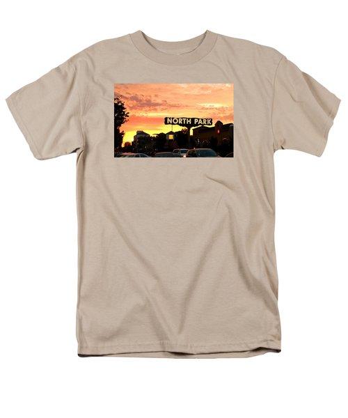 San Diego North Park Sun Men's T-Shirt  (Regular Fit) by Christopher Woods