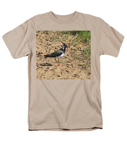 Northern Lapwing Men's T-Shirt  (Regular Fit) by Louise Heusinkveld