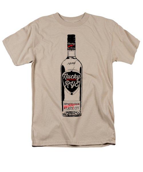 Nucky Thompson Boardwalk Rye Whiskey Tee Men's T-Shirt  (Regular Fit) by Edward Fielding