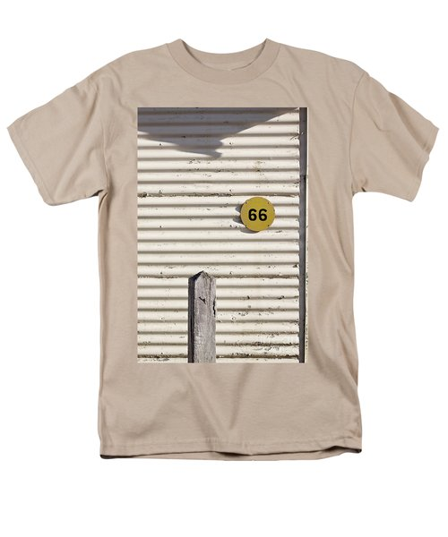 Men's T-Shirt  (Regular Fit) featuring the photograph Number 66 by Linda Lees