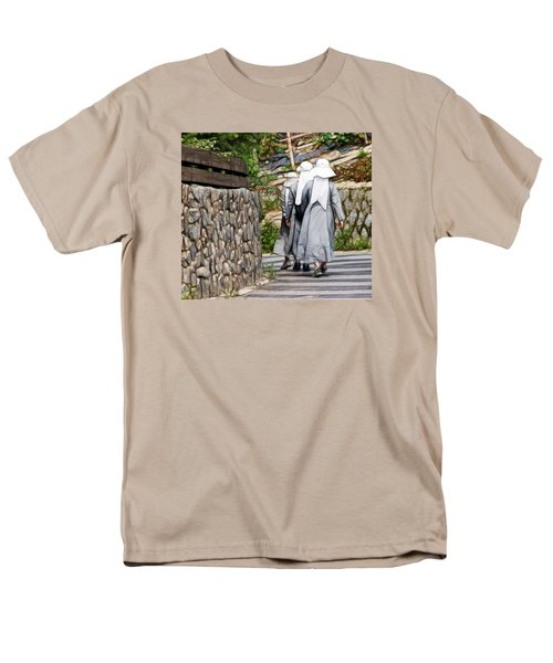Nuns In A Row Men's T-Shirt  (Regular Fit) by Cameron Wood