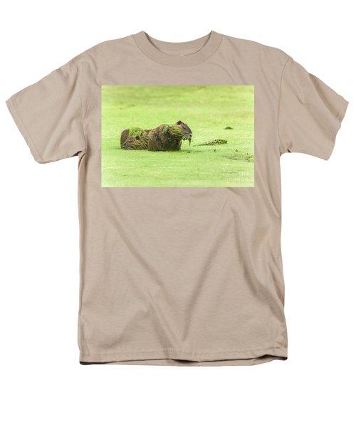 Nutria In A Pesto Sauce Men's T-Shirt  (Regular Fit) by Robert Frederick