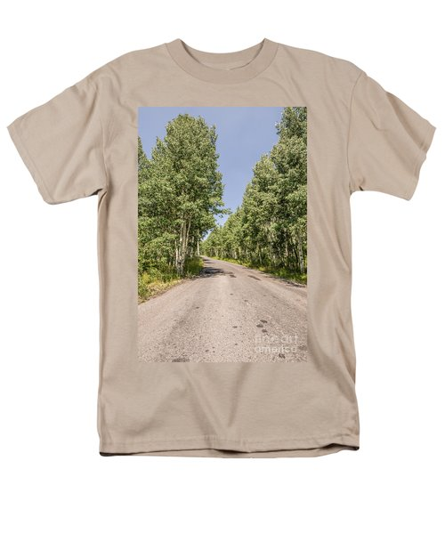 Off The Beaten Path Men's T-Shirt  (Regular Fit) by Sue Smith