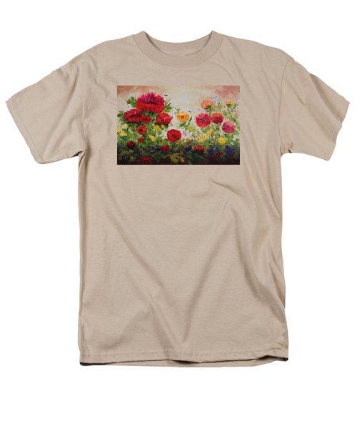 Oil Msc 060 Men's T-Shirt  (Regular Fit) by Mario Sergio Calzi