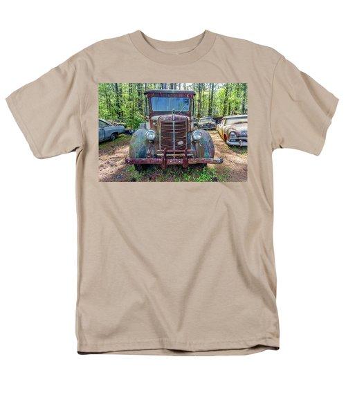 Old Car Smile Men's T-Shirt  (Regular Fit) by Menachem Ganon