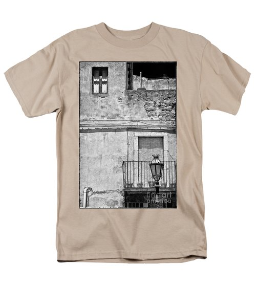Old House In Taormina Sicily Men's T-Shirt  (Regular Fit) by Silvia Ganora