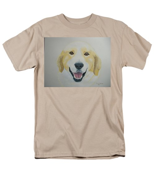 Men's T-Shirt  (Regular Fit) featuring the painting Old Shep by Norm Starks