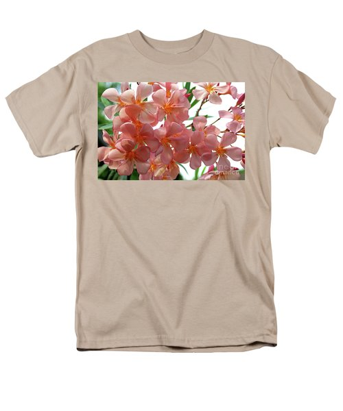 Men's T-Shirt  (Regular Fit) featuring the photograph Oleander Dr. Ragioneri 4 by Wilhelm Hufnagl