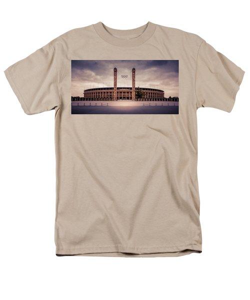 Olympic Stadium Berlin Men's T-Shirt  (Regular Fit)