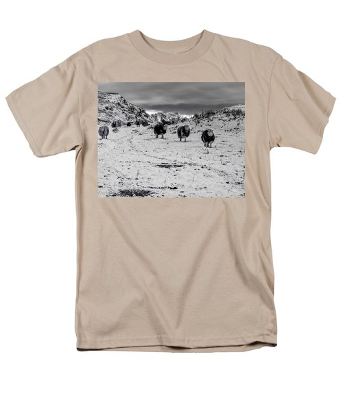 Men's T-Shirt  (Regular Fit) featuring the photograph On Our Way by Keith Elliott