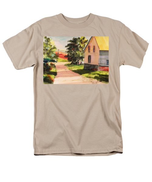 Men's T-Shirt  (Regular Fit) featuring the painting On The Line by John Williams