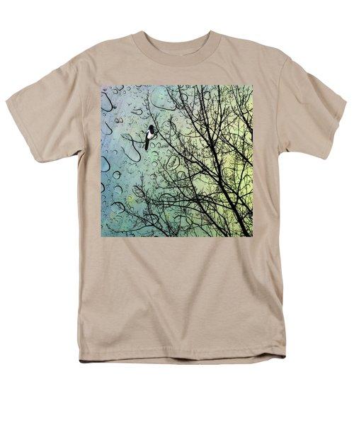 One For Sorrow #nurseryrhyme Men's T-Shirt  (Regular Fit) by John Edwards