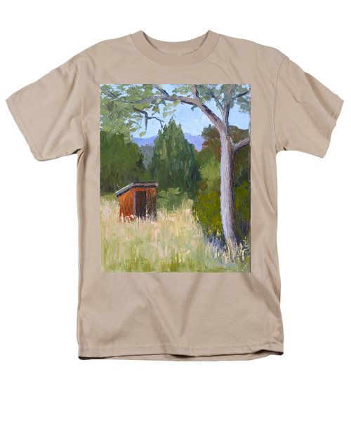 One Holer Men's T-Shirt  (Regular Fit) by Susan Woodward