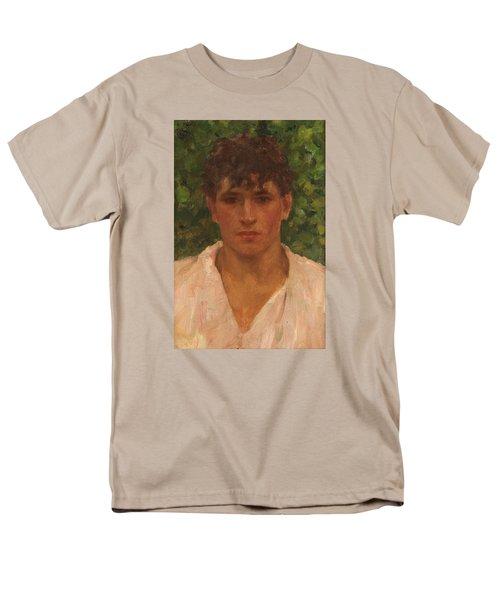 Open Collar Men's T-Shirt  (Regular Fit) by Henry Scott Tuke